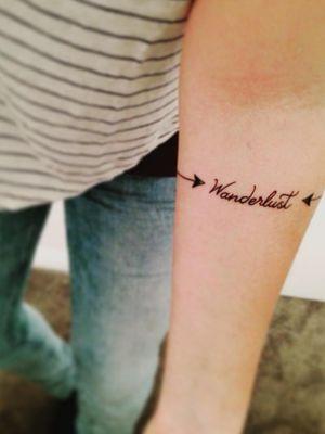 My first tattoo. August 2015 in Wellington, NZ