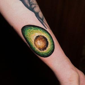 avocado Van gogh/Embroidery