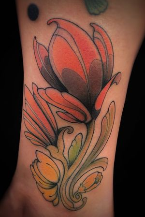 Original Design. #neonouveau #artnouveau #artnouveautattoo #neotradi #neotraditionalworldwide #neotraditionaltattoo #neotradstyle #neotraditional #neotrad #tattooart