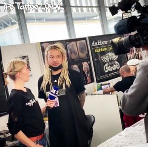 In slovenia international tattoo convention 2019.