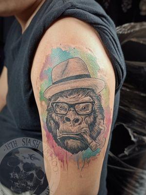 #GorillaTattoo #customtattoo