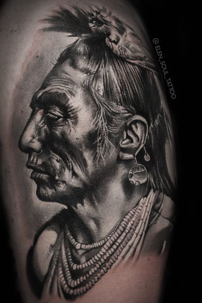 #indian #blackandgray #realism #realistic #dark #elensoul