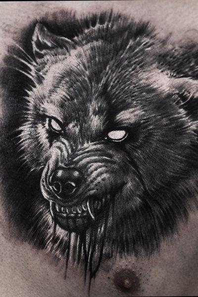 #wolf #angrywolf #evil #horror #dark #elensoul