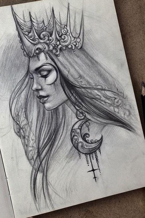 #moongirl #moon #magic #design #cross #elensoul