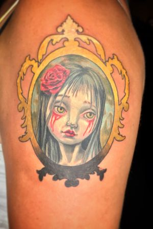 Tattoo from Alan Brennan