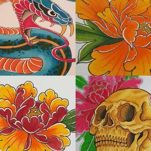Tradional Japanese designs available to be tattooed #tattoo #Sydney # sydneytattooartist #bestsydneytattooartist #besttattooartistsydney #sydneytattoostudio #sydneytattoostudios #sydneytattooshop #sydneytattooshops #colourtattoo #floraltattoo #floralart #ink #inkmaster #inkedmag #tattooideasforwomen #tattooinspiration #bodyart #fashion #inkspiration #tattoooftheday #tattooflower #flowertattoodesign #flowertattoodesignforgirls
