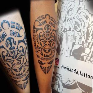 Maori on leg