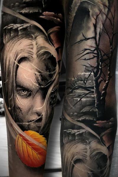 #knight #realistic #realism #marco #pikass #pik #ass #marcopikass #pikasstattoo #tattoo #tattooed #ink #inked #portrait #art #face #3d #color #colour #work #arm #armsleeve #germany #german #artist
