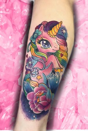 Glittery unicorn #kawaii #cute #colour #edmonton #yeg #rainbow #glitter #pastel