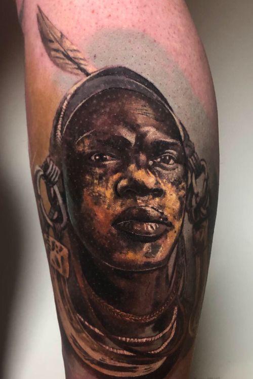 All healed and settled. Using @yayofamilia aftercare #tattoodo #tattoos #realistictattoos #juniortattooartist #clotoacherontia 🌿