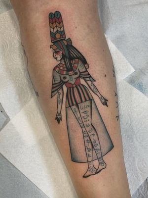 Egyptian tattoo by Cloditta #Cloditta #egyptiantattoo #egyptian #egypt #ancientegypt #culture #ancient #legend #history