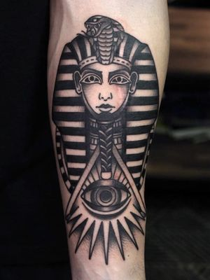 Egyptian tattoo by Mick Gore #MickGore #egyptiantattoo #egyptian #egypt #ancientegypt #culture #ancient #legend #history