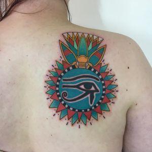 Egyptian tattoo by koreanhammer #koreanhammer #egyptiantattoo #egyptian #egypt #ancientegypt #culture #ancient #legend #history