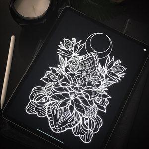 #draw #ornamental #ornamentaltattoo #backpiece