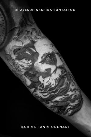 Nice frist session on this Neptune forearm piece.