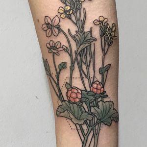 Flowers botanical