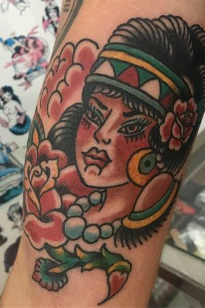 #traditionaltattoo #gipsytattoo #tattootraditional