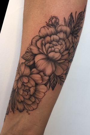 Tattoo flor de lotus rastelado