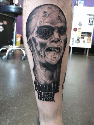 Email painlessbookings@gmail.com #tattoo #zombie #blackworkers #blackwork