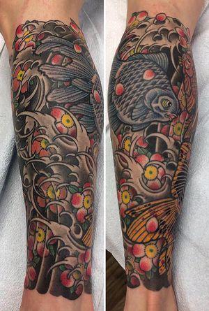 #japanese #japanesetattoo #japanesetattoos#edmonton #irezumi #yeg #yegtattoos#tattoosbyguka