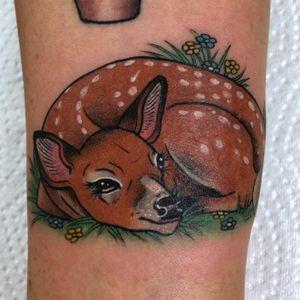 Sweet little wrist deer