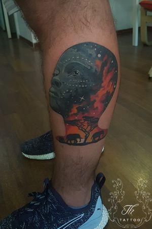 Tatuaj portret color #tattoo #tatuaj #tatuajebucuresti #tatuajecolor #tatuaje www.tatuajbucuresti.ro