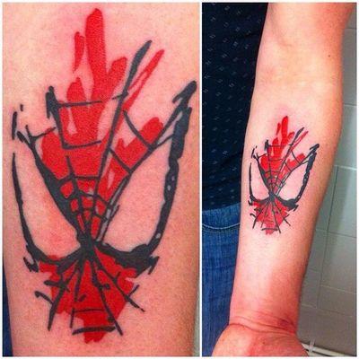 #spiderman #peterparker #stanlee #marvel #spidey #spidermantattoo #theavengers