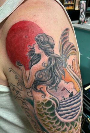 Neo tradional mermaid