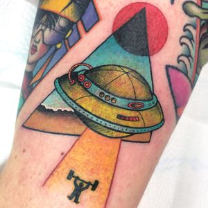 Desert chrome space tattoo