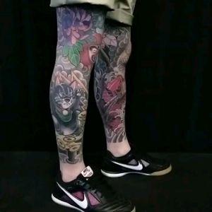 Work in progress leg sleeves (pants?)