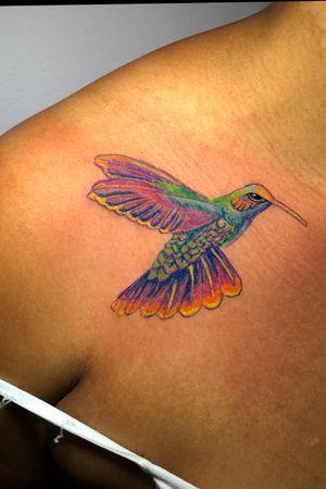 A vibrant #hummingbird
