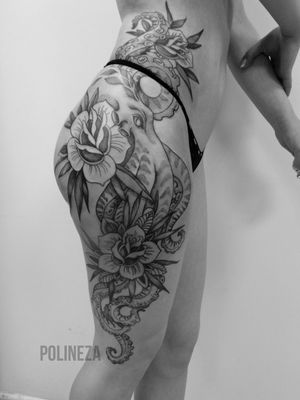 #moscow #tattoomoscow #moscowtattoo #polinezatattoo