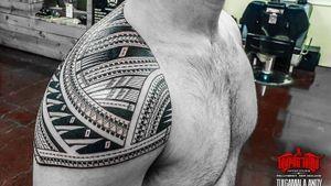 #freehand #samoan shoulder