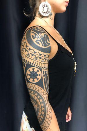 Customizing Polynesian Tattoo style