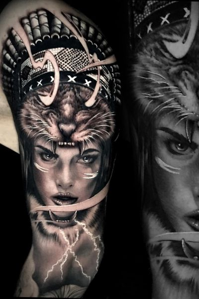 #marco #pik #ass #tattoo #pikass #marcopikass #ketsch #german #germany #realistic #realism #armtattoo #armsleeve #sleeve #bng #black #grey #white #tiger #portrait #art #portraitart #light #thor #native #american #girl #lady #woman #cat #animam #wild #model