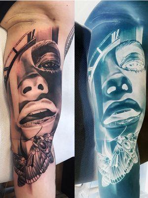 Inversion custom tattoo