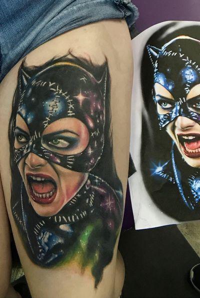 #catwoman #batman #portrait