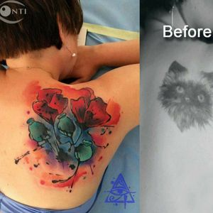 Cover Up Add some watercolors