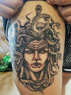 Day after photo of a neo/stipple medusa