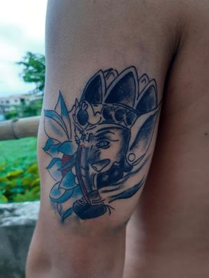 #ganesh #ganesha #ganeshtattoo #radiantcolors #tattoolovers #tattooideas #tattoolifestyle