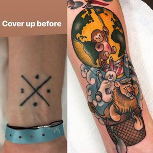 Cover up!