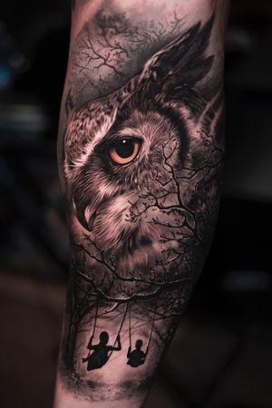 #owl #tx #texas #denton #inked #joseecd #josecontrerasart # tattooideas