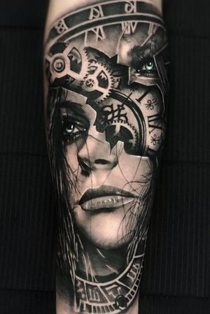 Realistic black and gray by Kevin Pomponi.  Done using: @fkirons  @stencilstuff  @kwadron  @hustlebutterdeluxe  @worldfamousink  @lineatattoo.olcelli  #tattoo #tattoos #tattooink #tattooed #tattoostyle #tattoomodel #tattooist #tattoolife #tattoolifemagazine #tattooer #tattooing #tattoogirl #tattoodo #tattoolove #tattooblackandgrey  #blackandgreytattoo #tattoocolor #tattooedgirls #switzerland #milano #italy #losangeles #tattooinspiration #realistictattoo #tattooinspiration #tattoosleeve #tattoodesign #tattooartist #tattoooftheday