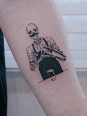 Tattoo by Punch Drunk Tattoo