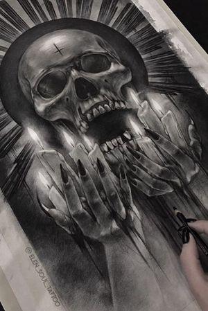 #death #design #candels #blackandgray #dark #tod #horror #elensoul