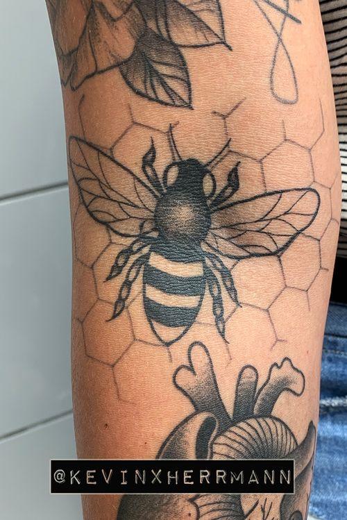 Three months healed.  #bee #berlin #ruhrpott #traditional
