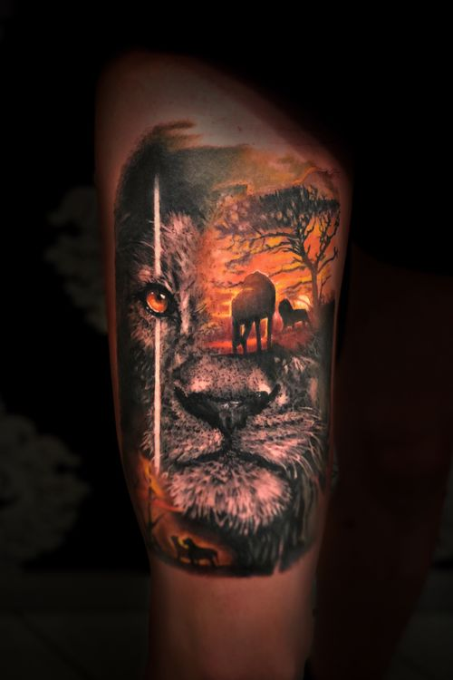 Fun piece done in 9h!! Artist Kevin Pomponi  #tattoo2me #tattooed #tattooer #tattoolife #tattoosleeve #tattoo #tatt #tattoos #tattoomodel #tattoorealistic #tattooing #tattooist #tattooartist #tattooedgirls #tattooideas #tattoodo #theblackandgreytattooleague #tattooart #tattoolife #tattoolifemagazine