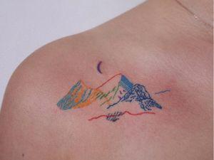 Illustrative tattoo by Git B #GitB #tattooideas #illustrativetattoos #tattooswithmeaning #meaningfultattoos #tattoocommunity #drawingtattoos