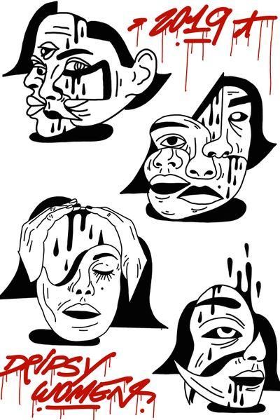 #drawing #tattoo #inked #ink #flashtattoo #tattooflash #paris #paristattoo #sketchtattoo #sketch #tatouage #perso #charactersketch #france #dessin #blackwork #black #ignorant_tattoos #ignorantland #ignorantstyletattoo #paint #graffiti #graffitiparis #cartoon #bw #tattoo #tattoos #gorl