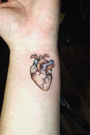 #heart #anatomical #finelinetattoo